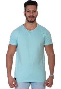 Camiseta Lucas Lunny T Shirt Azul Neon