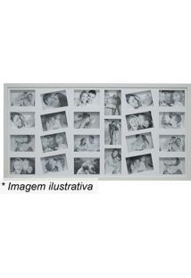 Painel Para 23 Fotos- Branco- 50X100X3Cmkapos
