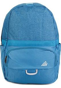 Mochila Adv Casual Bicolor - Masculino-Azul