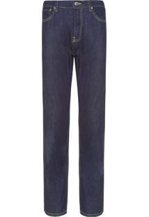 Calça Masculina Jeans Straigh - Azul