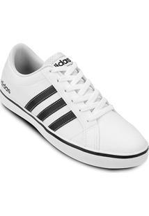 Tênis Adidas Pace Vs Masculino - Masculino-Branco+Preto