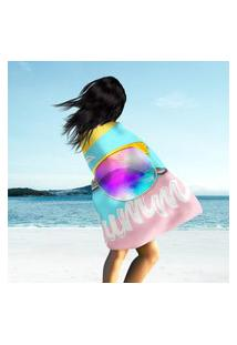 Toalha De Praia / Banho Oh, My Summer Único