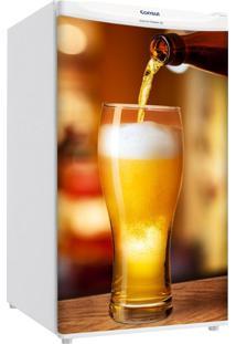 Adesivo Sunset Adesivos Frigobar Decorativo Porta Servindo Cerveja