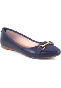 Sapatilha Tag Shoes Bico Fino Fivela Feminino - Feminino
