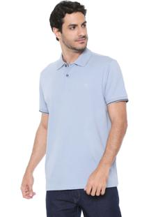Camisa Polo Richards Reta Sel Marine Azul