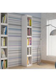 Estante Para Livros Componível Bl 12 Branco - Brv Móveis