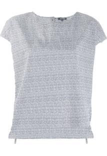Woolrich Printed Poplin Blouse - Azul