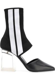 Palm Angels High Ankle Boots - Preto
