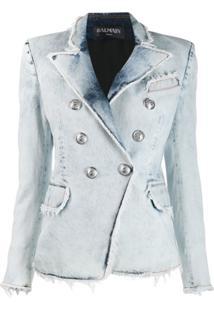 Balmain Blazer Jeans - Branco