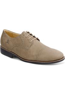 Sapato Em Couro Verona 220120 - Masculino-Bege