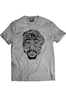 Camiseta Skull Clothing Tupac Tattoo Masculina - Masculino