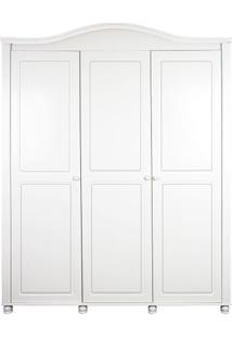 Armário 3 Portas Victória Branco Fosco