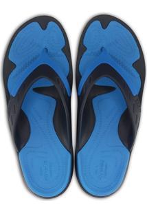 Chinelo Crocs Modi Sport Flip Azul