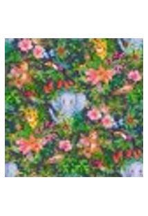 Papel De Parede Adesivo Decoração 53X10Cm Verde -W22959