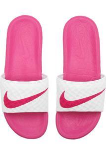Chinelo Nike Sportswear Wmns Benassi Sol Rosa