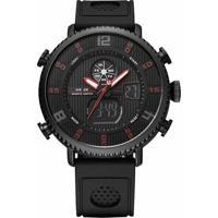 75552b3c4a7 Relógio Weide Anadigi Wh-6101 - Masculino-Preto+Vermelho