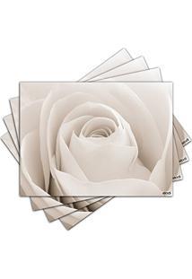Jogo Americano - Rosa Com 4 Peças - 370Jo