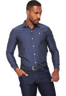 Camisa Sergio K Poás Azul