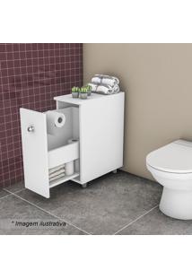 Balcão Para Banheiro- Branco- 452X21,1X56Cm- Movmovel Bento