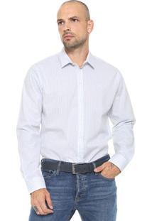 Camisa Forum Reta Estampada Branca