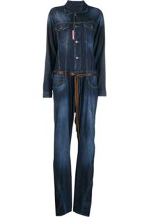 Dsquared2 Macacão Jeans - Azul