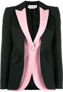 Alexander Mcqueen Deconstructed Double Jacket - Preto