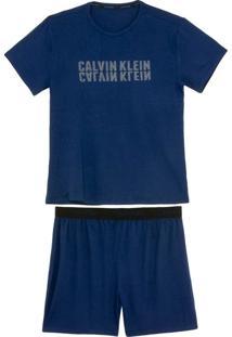 Pijama Masculino Calvin Klein Bermuda Viscolycra