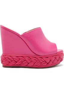 Sandália Mule Plataforma Vibrant Pink | Schutz