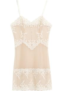 Camisola Embrace Lace Wacoal - Off White