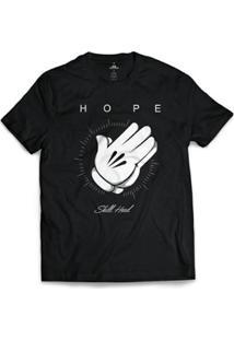 Camiseta Skill Head Hope Masculina - Masculino-Preto