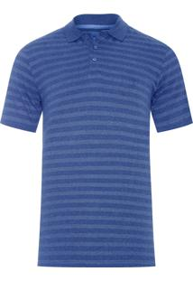 Polo Masculina - Azul