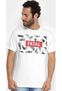 Camiseta Fatal Money Masculina - Masculino