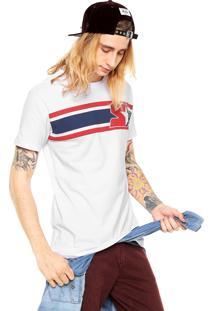 Camiseta Starter Reta Branca/Preta