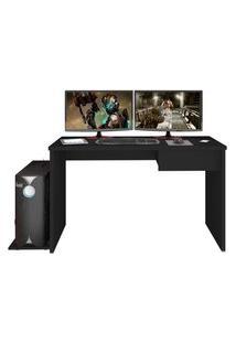 Mesa Para Computador Notebook Desk Game Drx 8000 Preto - Mpozenato