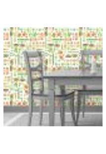 Papel De Parede Autocolante Rolo 0,58 X 5M - Cozinha 1339