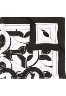 Bottega Veneta Lenço Com Padronagem Geométrica - Preto