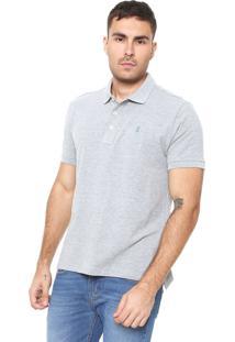 Camisa Polo Sergio K Reta Cinza
