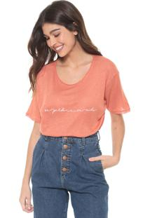 Camiseta Dress To Se Perder Laranja