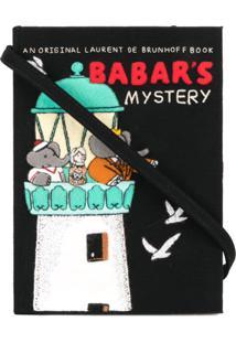 Olympia Le-Tan Clutch 'Babar'S Mistery' - Preto