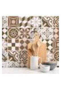 Adesivo De Azulejo Cozinha Geometrico 10X10Cm 50Un