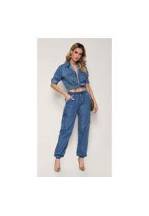 Calça Jeans Zait Joice Azul Marinho