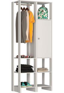 Guarda-Roupa Modulado Closet 105107 - Nova Mobile - Branco