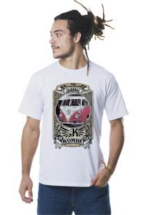 Camiseta Kurtt Kombi Branca