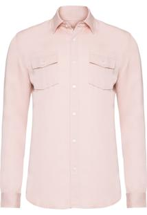 Camisa Masculina New Trip - Rosa