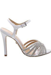Sandália Salto White Diamond | Schutz