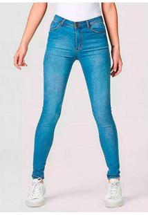 Calça Jeans Feminina Sculpted Skinny Com Elastano