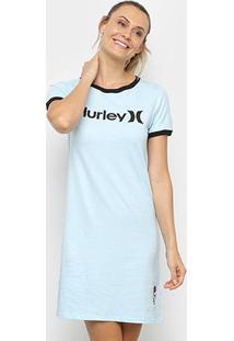 Vestido Hurley Tubinho O&O - Feminino-Azul