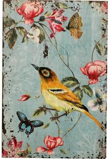 Placa Decorativa De Madeira Nature