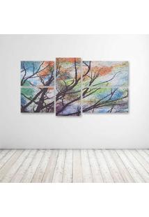 Quadro Decorativo - Fabric - Composto De 5 Quadros - Multicolorido - Dafiti