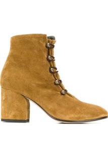 Officine Creative Ankle Boot Lou - Marrom